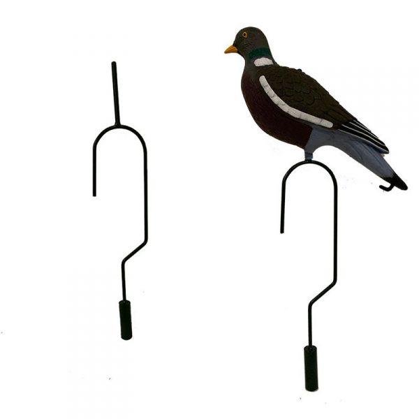 Crochet pour suspendre forme de pigeon