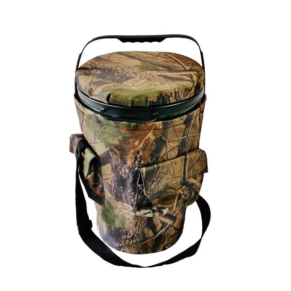 Seau-siège rotatif avec sac de transport